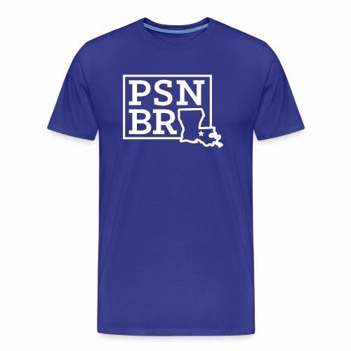 PSN BR Blue on White - Men's Premium T-Shirt