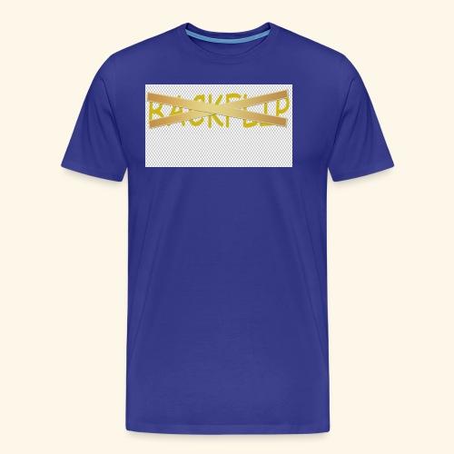 NO BACKFLIP HOODIE - Men's Premium T-Shirt