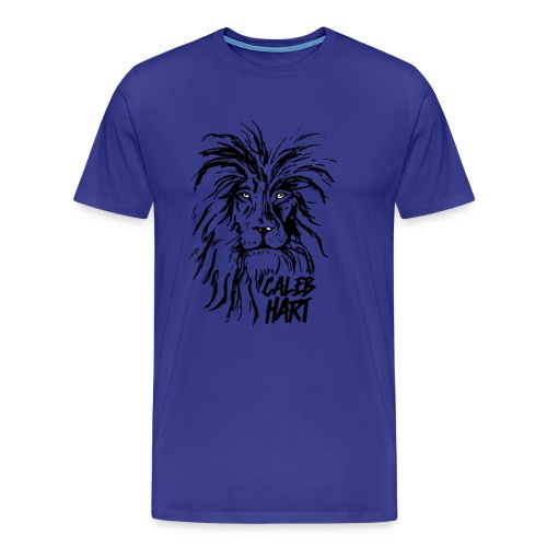 Caleb Hart - Lion - Men's Premium T-Shirt