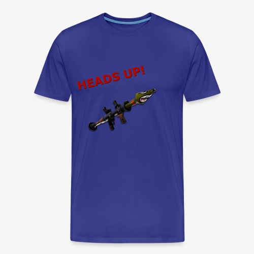 Fortnite RPG (Heads Up!) - Men's Premium T-Shirt