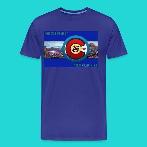 SCI String Cheese Incident Red Rocks 2017 2 - Men's Premium T-Shirt