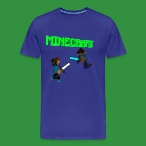 SmoothYT vs Herobrine - Men's Premium T-Shirt