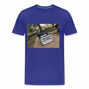 Change My Mind Meme - Men's Premium T-Shirt