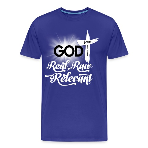 REAL RAW RELEVANT - Men's Premium T-Shirt