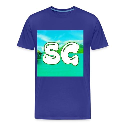 SuperGamerYT Merch - Men's Premium T-Shirt