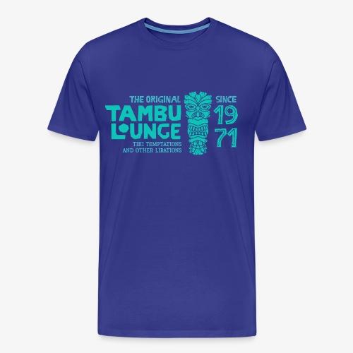 Tambu 71 (Teal) - Men's Premium T-Shirt