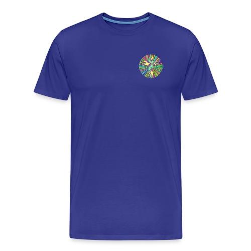 Prismatic Refractive Cross - Men's Premium T-Shirt