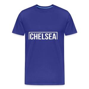 Goal Chelsea White - Men's Premium T-Shirt