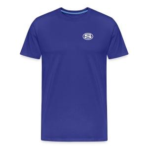 screven s white - Men's Premium T-Shirt