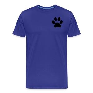Paw print - Men's Premium T-Shirt