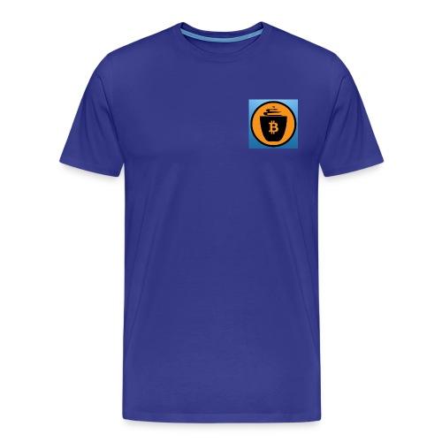 CafeBitcoin - Men's Premium T-Shirt