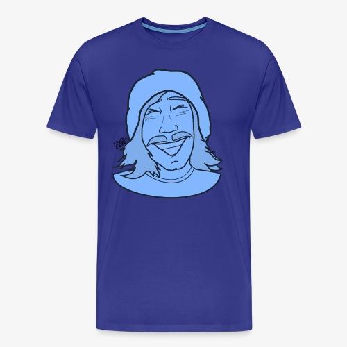 RUDERHYMER Artwork (Blue) 2 - Men's Premium T-Shirt
