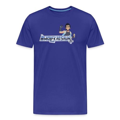 Wolfkaosaun and character - Men's Premium T-Shirt