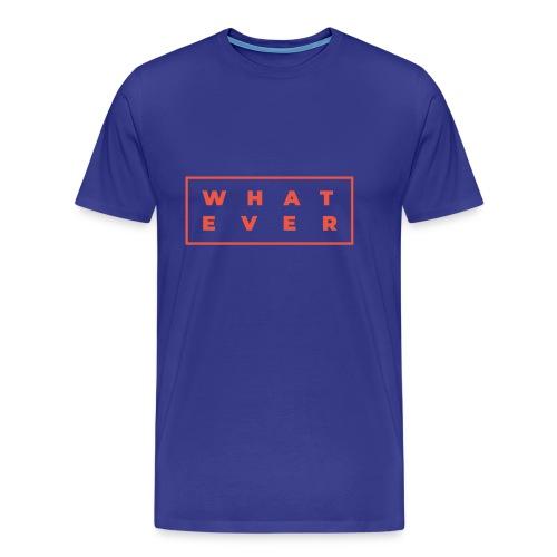 Who cares? - Men's Premium T-Shirt