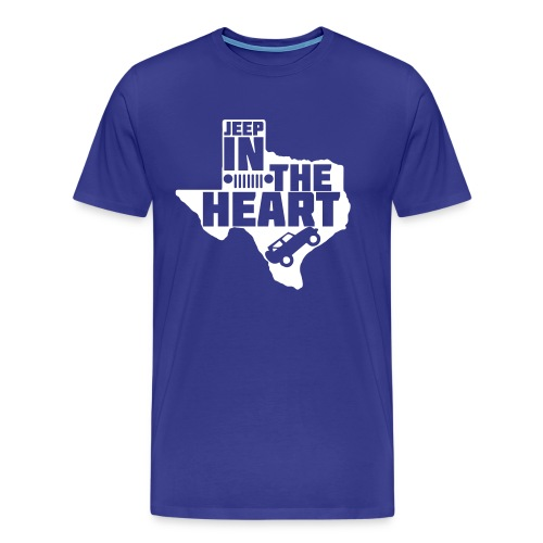 Jeep in the heart of Texas - Men's Premium T-Shirt