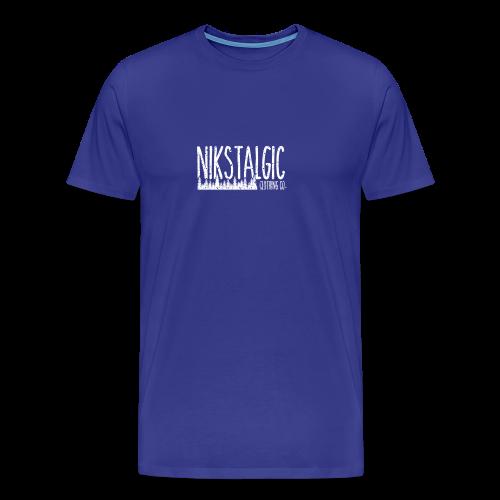 Nikstalgic - Rough Nature - Men's Premium T-Shirt