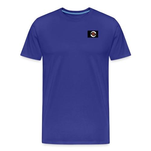 Short sleeves with logo - Men's Premium T-Shirt