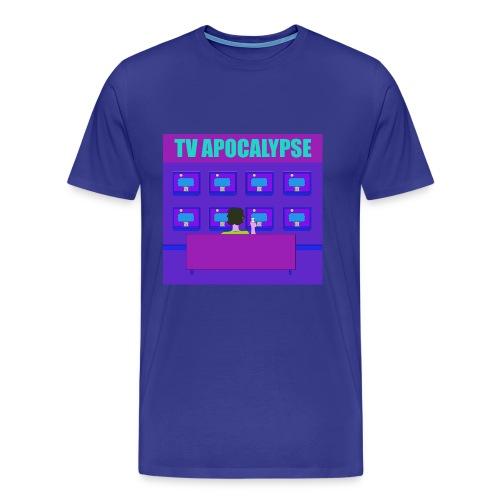 tvApocalypse TV Screens T-Shirt - Men's Premium T-Shirt