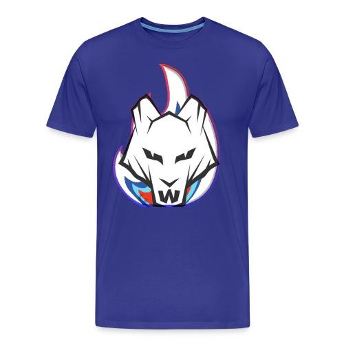 Wolf Flame - Men's Premium T-Shirt