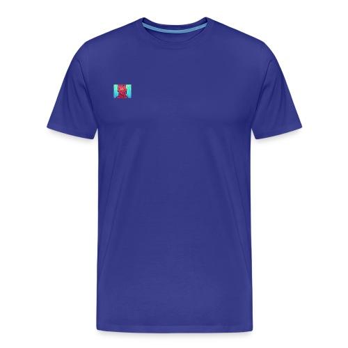 slimey man is here - Men's Premium T-Shirt