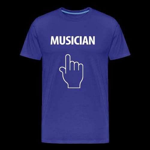 MUSICIAN-white Design - Men's Premium T-Shirt
