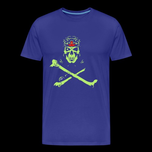 Halloween And Danger Design - Men's Premium T-Shirt