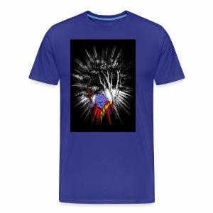 Blue Sappo - Men's Premium T-Shirt