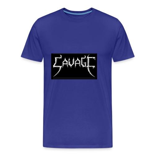 Savage print - Men's Premium T-Shirt