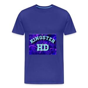 Kingsterhd poster t-shirt - Men's Premium T-Shirt