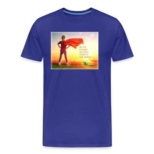 Education Superhero - Men's Premium T-Shirt