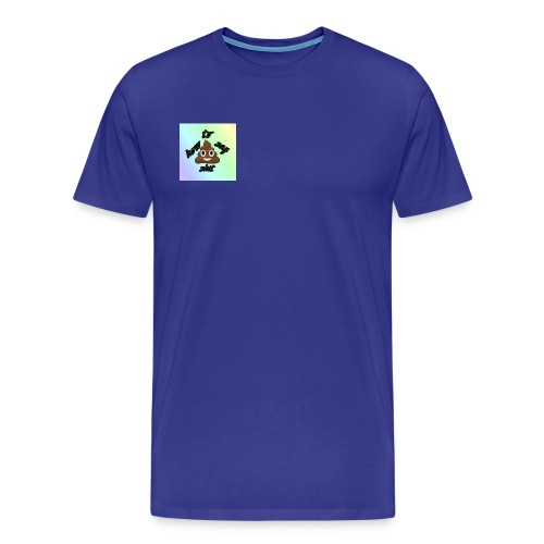 HTSS Old School Blue/Purple Design - Men's Premium T-Shirt