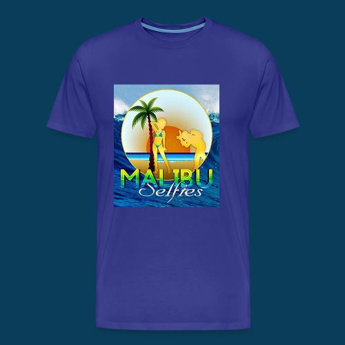 Malibu Selfies - Men's Premium T-Shirt
