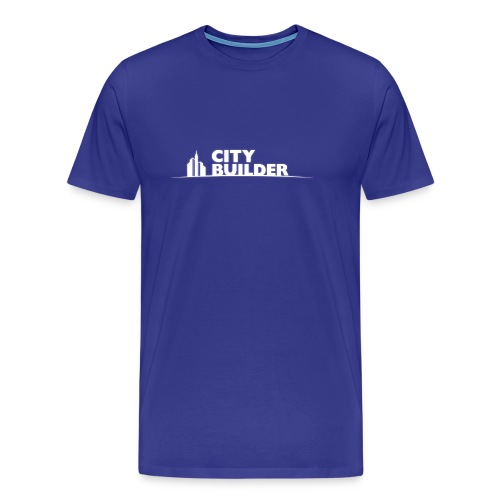 city builder - Men's Premium T-Shirt