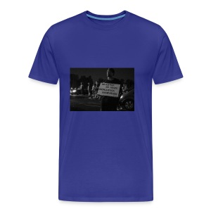 no justice no peace know justice know peace - Men's Premium T-Shirt