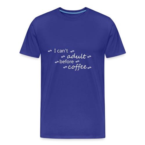 coffee21 - Men's Premium T-Shirt
