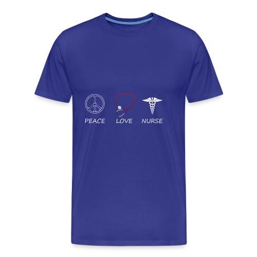 peace love43 - Men's Premium T-Shirt