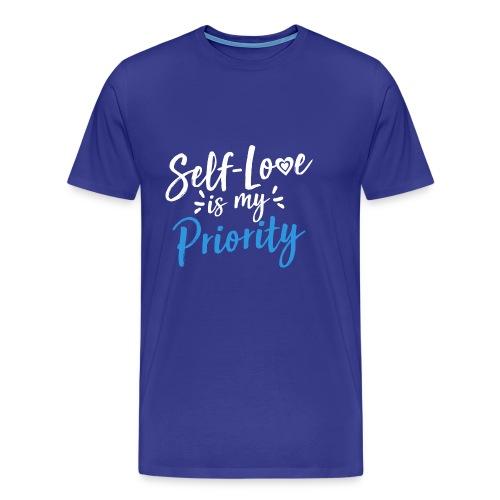 Self-Love is My Priority Shirt Design - Men's Premium T-Shirt
