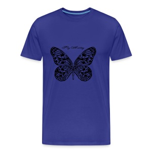 Fly Away B - Men's Premium T-Shirt