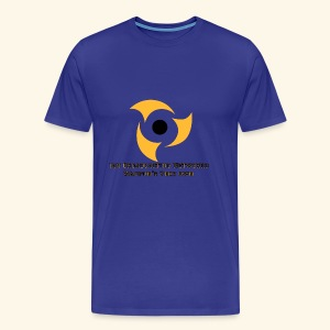 Official Blue Color Apparel Waupun's Very Own IBN - Men's Premium T-Shirt