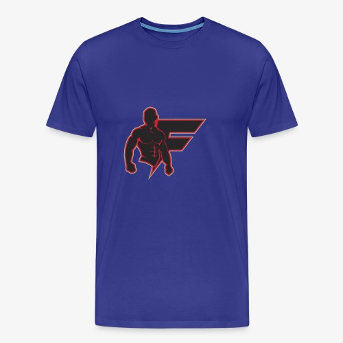 Flo Natic with f - Men's Premium T-Shirt