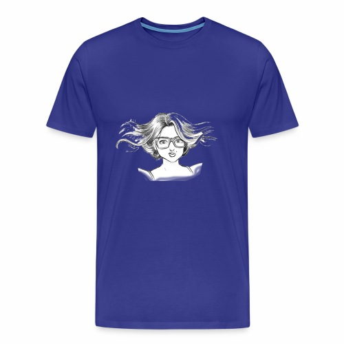 chica linda - Men's Premium T-Shirt