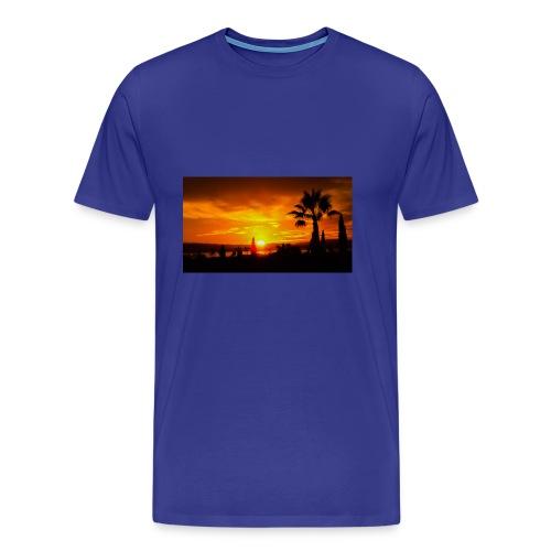 last sunset - Men's Premium T-Shirt
