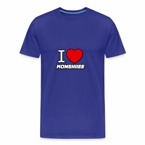 I LOVE MONSHIIEE - Men's Premium T-Shirt
