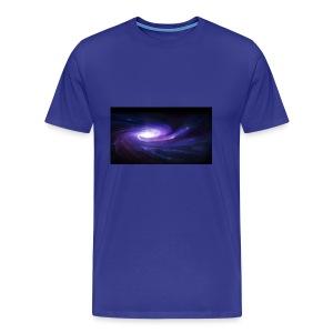 space art spiral star glow 94003 1920x1080 - Men's Premium T-Shirt