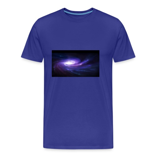 space art spiral star glow 94003 1920x1080 - Men's Premium T-Shirt