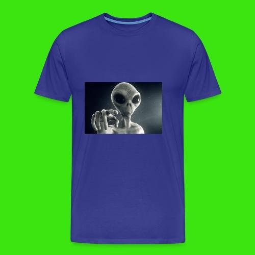 Show me De wey to De UFO - Men's Premium T-Shirt