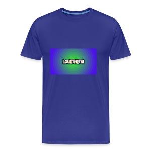 Cartoony Louisthetui Logo - Men's Premium T-Shirt