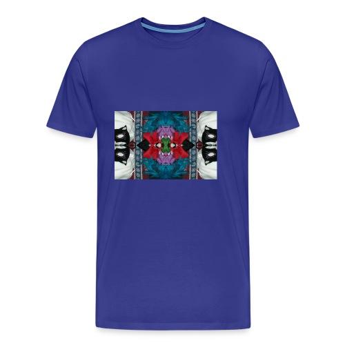 Funny yet eerie dracula hallucination - Men's Premium T-Shirt
