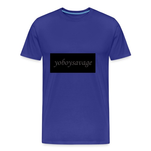 yoboysavagelogo - Men's Premium T-Shirt