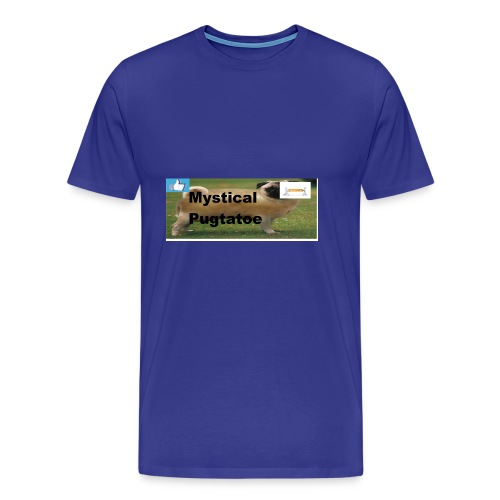 mystical pugtatoe symbol - Men's Premium T-Shirt